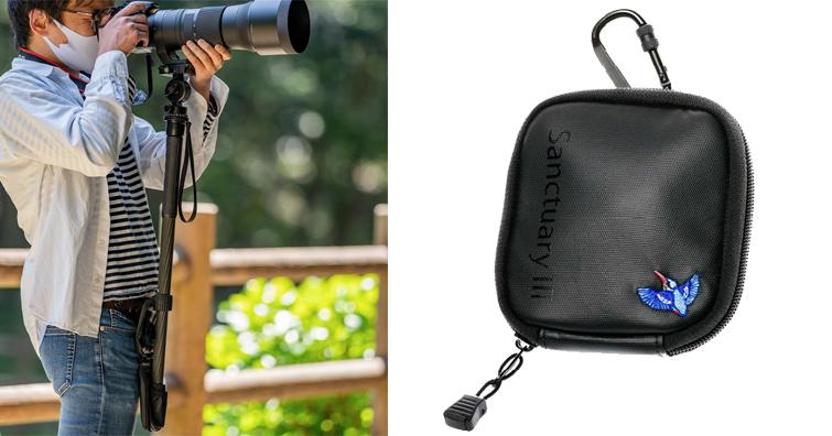 Sanctuary III單腳架支撐袋發售,拍飛羽、航空、體育題材必備