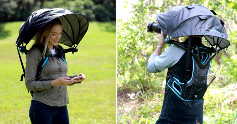 【戶外生活】穿戴式遮光擋雨神器更新版發售,建議售價約NT$ 2,500