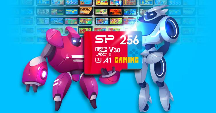 SP廣穎電通推出專為可攜式遊戲裝置存儲microSDXC記憶卡 -Superior Gaming (A1.V30)