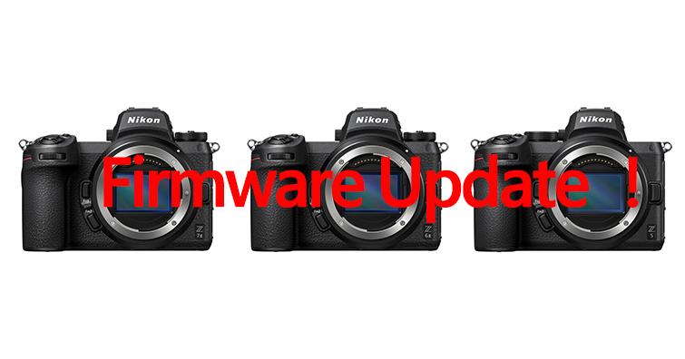 Nikon發布Z7 II ∕ Z6 II ∕ Z5韌體更新!修復 FTZ 轉接環的操作異常問題