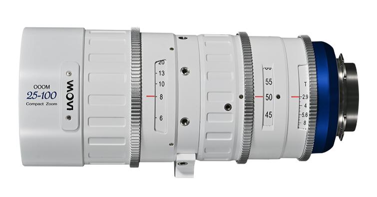 LAOWA 白色版 OOOM 25-100mm t/2.9 Zoom電影鏡頭發售,建議售價約新台幣17萬