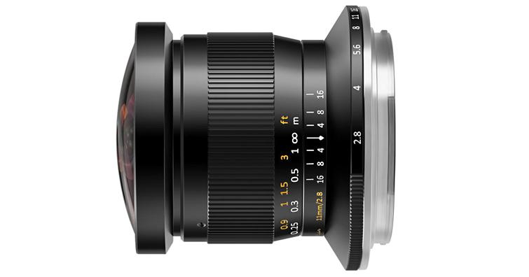 TTArtisan 11mm f/2.8 Fisheye ED 魚眼鏡頭新增FUJIFILM GFX接口