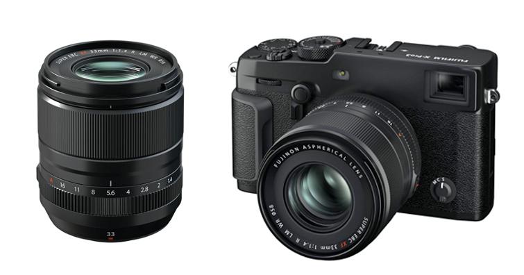 FUJIFILM發佈全新FUJINON XF33mmF1.4 R LM WR,高清晰度,快速精準自動對焦
