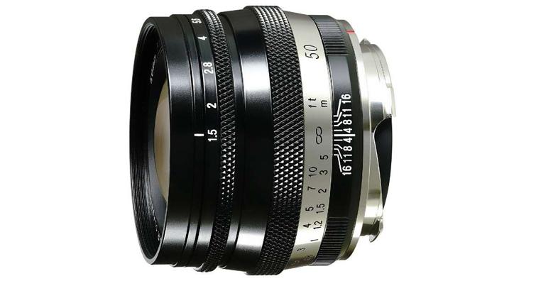福倫達HELIAR classic 50mm F1.5 VM發售,建議售價NT$ 23,000