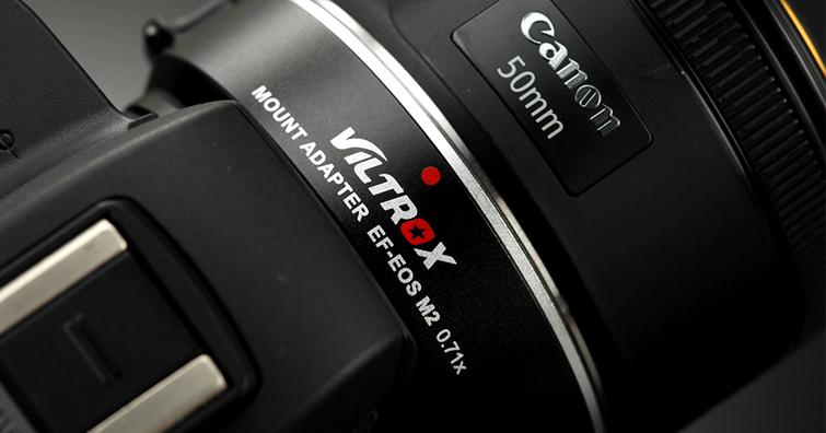 VILTROX(唯卓)EF-EOS M2減焦增光環試用報告
