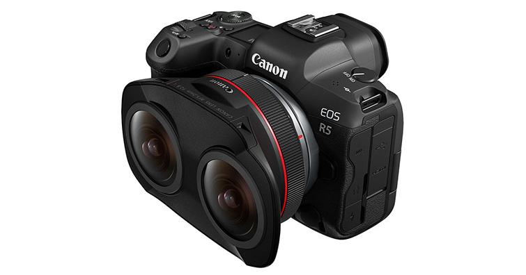 超有創意!Canon發布雙魚眼鏡頭RF 5.2mm F2.8 L DUAL FISHEYE,讓VR拍攝更簡單