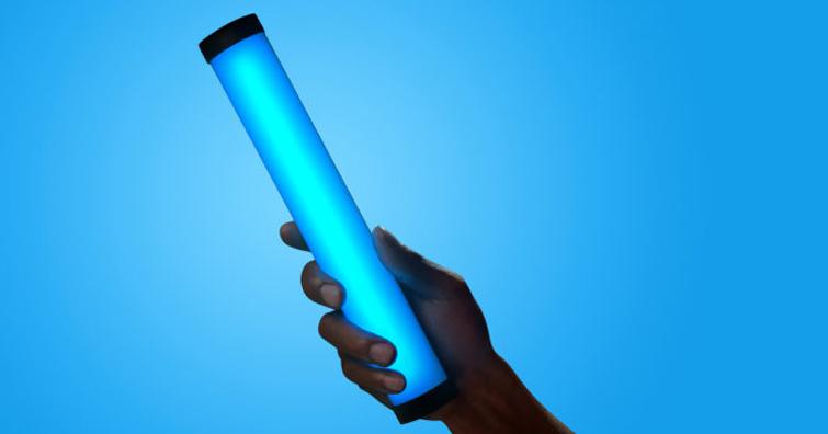 口袋管燈,握在手上的補光利器-PavoTube II 6C