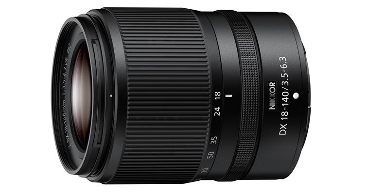 Nikon Nikkor Z DX 18-140mm f/3.5-6.3 VR發佈,建議售價約NT$ 21,500,預計11月26日開始發售