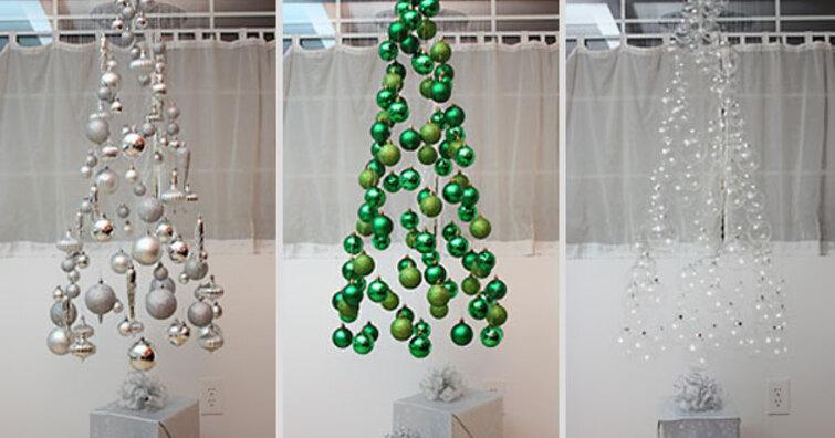 16種DIY聖誕樹妙招,替你省荷包又能尬創意
